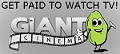 Register for Giant Cinema & get PAID watching TV & movies!